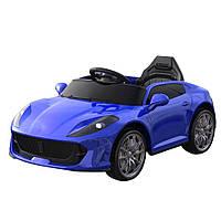 Детский электромобиль машина T-7653 Blue синий с MP3