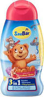 Детский шампунь без слез  3в1 SauBarDusche & shampoo for Kids 250 мл