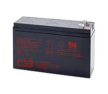 Акумуляторна батарея CSB HR1224WF2, 12V 6.5AH (151х51х94мм) Q12