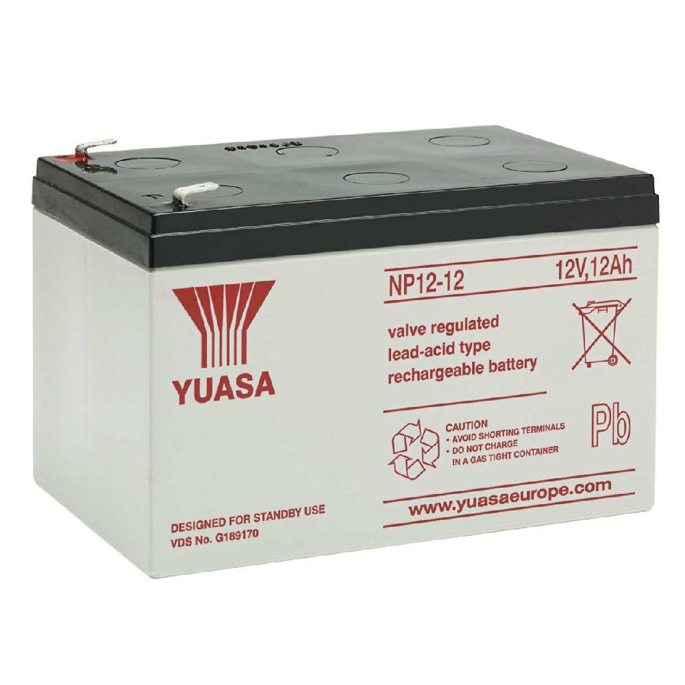 Акумуляторна Батарея для ДБЖ Yuasa NP12-12 12V 12Ah,  (151*98*97,5)  Q4