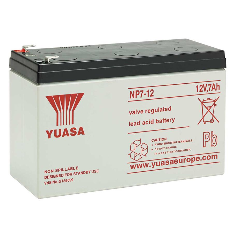 Акумуляторна Батарея для ДБЖ Yuasa NP7-12 12V 7Ah ( 151*65*94 (97,5)) 2,65 кг, Q8