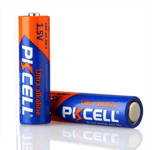 Батарейка лужна PKCELL 1.5V AA / LR6, 2 штуки в блістері ціна за блістер, Q12