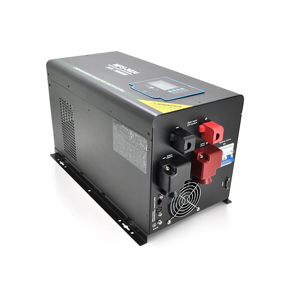 ДБЖ з правильним синусом RITAR RTSWm-MPPT-MPS-2012, 2000W, 12V, ток заряда 45 A, 160-275V, MPPT (60А, 15-100 Vdc)