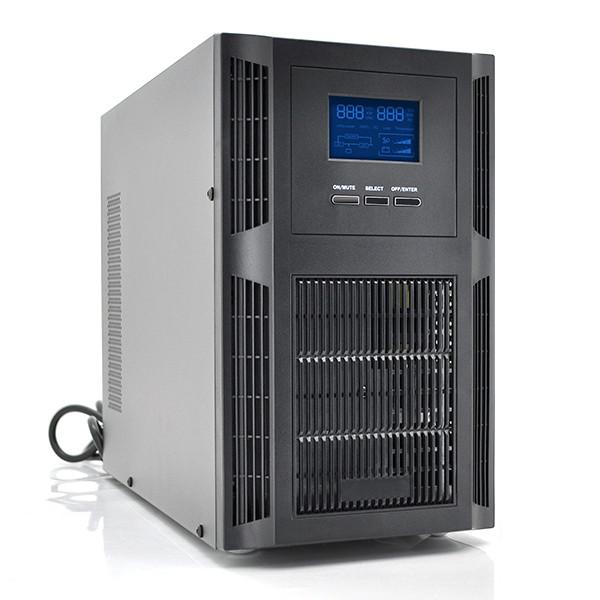 ДБЖ з правильною синусоїдою PT-2KS-LCD, 2000VA (1800Вт), 72В, Внутрішня батарея  12V 7 Ah х 6шт (395*190*320)