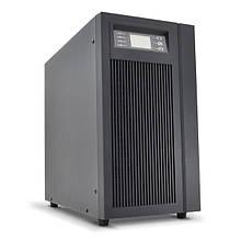 ДБЖ з правильною синусоїдою PT-6KS-LCD, 6000VA (5400Вт), 192В, Внутрішня батарея 12V 7 Ah х 12шт (500*248*616)