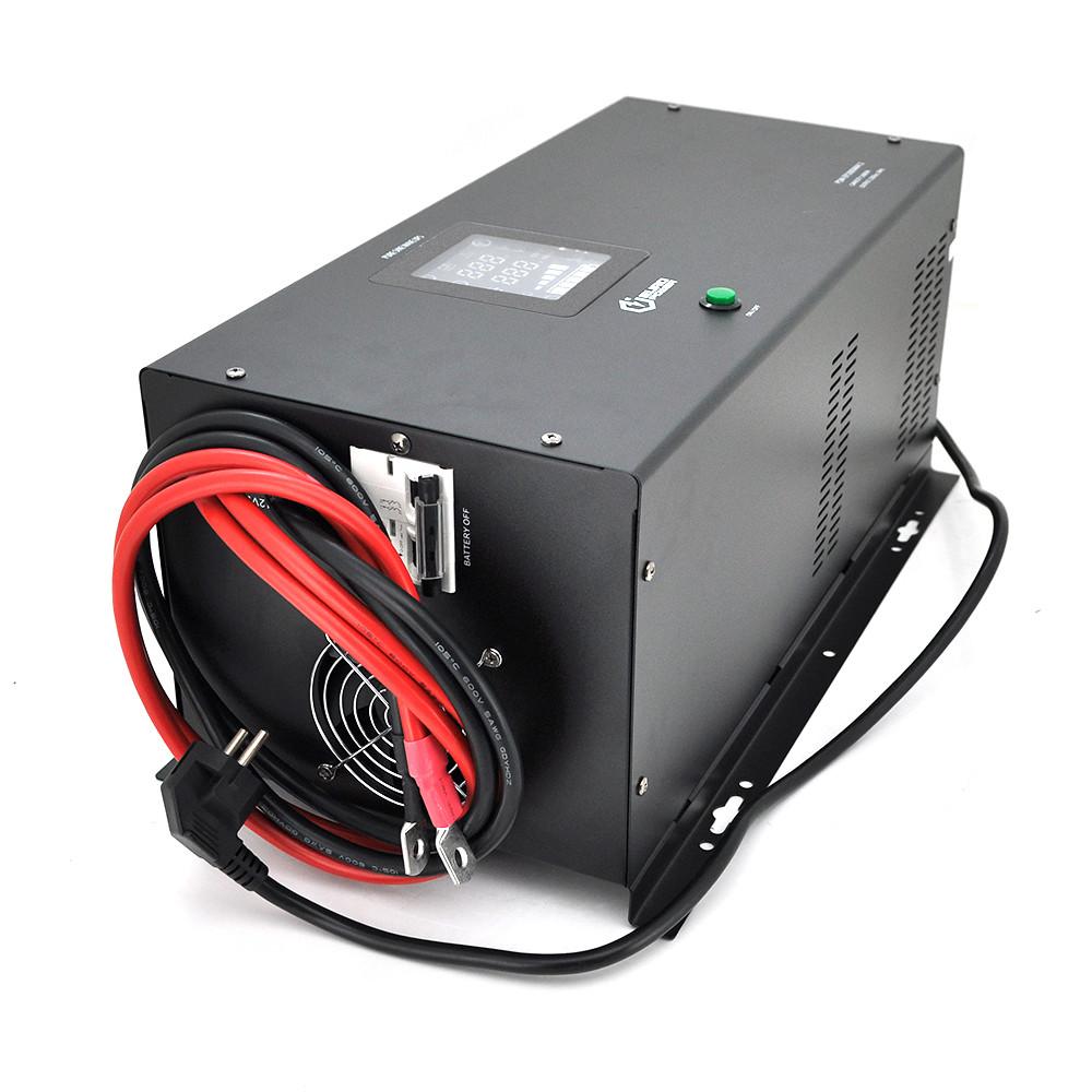 ДБЖ з правильною синусоїдою Europower PSW-EP5000WM24 (3500 Вт) 20А, настінний, під зовнішню АКБ 24В, Q1 640*335*325 24,5 кг