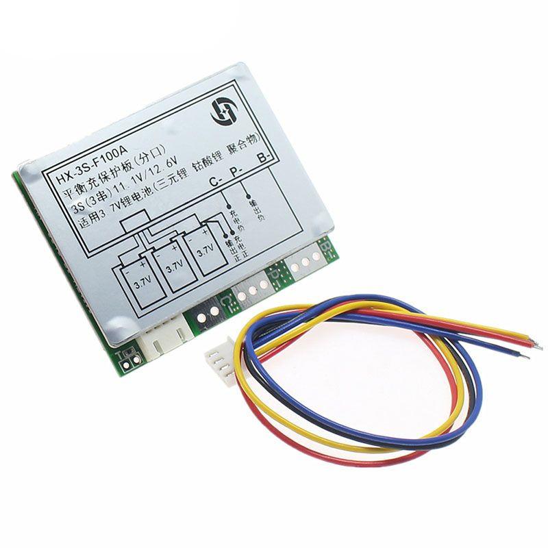 Плата захисту літієвої батареї, зарядний напряженіе12,6V-13V