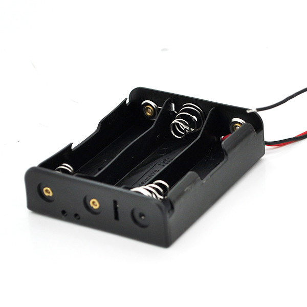 Зарядний відсік для літієвої батареї 18650, 3 секції