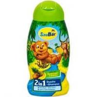 Детский шампунь без слез 2в1 Saubar Dusche & shampoo for Kids 250 мл