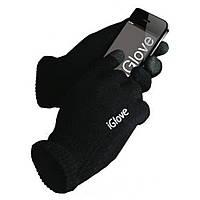 Перчатки SmartTouch iGlove АйГлов черные