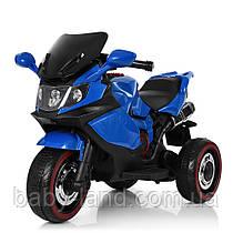 Детский трехколесный мотоцикл BMW M 3680L-4 синий