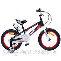 Детский велосипед Royal Baby 16 Space 16-17 алюминий Черный