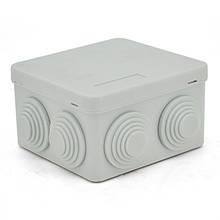 Коробка розподільна зовнішня YOSO Т40 85х85х50 IP55 колір білий  (85*85*50), Q200