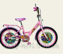 Детский двухколесный велосипед колеса 20 дюймов 192011 Дисней Принцесса розовый