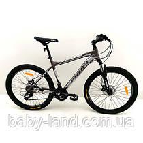Велосипед спортивный PROFI 26 дюймов G26PHANTOM A26.1 черно-серый