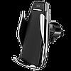 Автомобильный сенсорный держатель с беспроводной зарядкой Penguin Smart Sensor S5 для телефона + ПОДАРОК!, фото 2