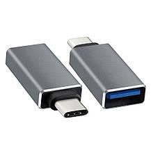 Перехідник USB 3.0 AF/TYPE-C. OEM