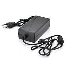 Імпульсний адаптер живлення YM-2420 24В 2А (48Вт) штекер 5,5/2,5 + шнур питания, длина  1,10м, Q100