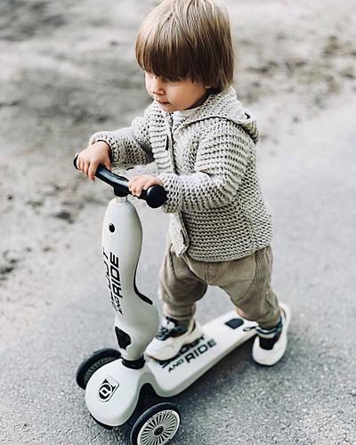 Навстречу приключениям с самокатом Scoot&ride