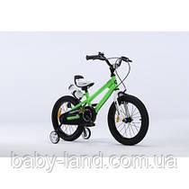 Детский велосипед Royal Baby Freestyle RB 16B-6, зеленый