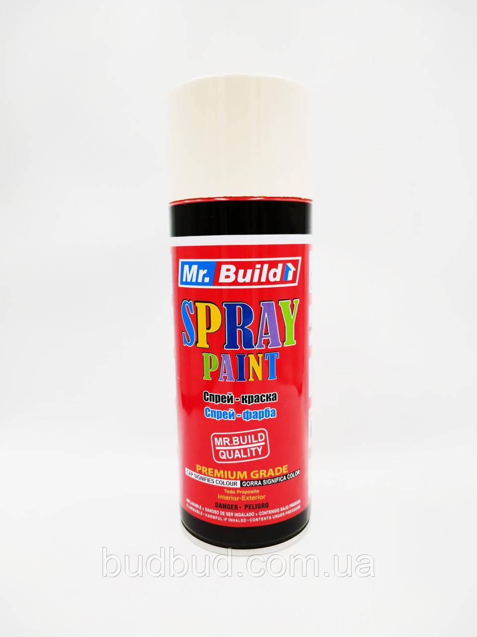 Спрей фарба Mr.Build/ № 40 Айворі 400 мл
