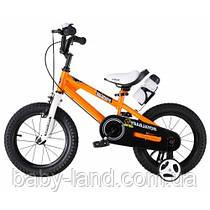 Детский велосипед Royal Baby Freestyle RB 16B-6, оранжевый