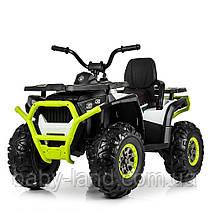 Детский электрический квадроцикл Bambi M 4081EBLR-1-5 зеленый