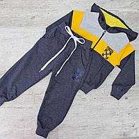 Костюм спортивный для мальчика ДВУНИТКА, РОСТОВКА от 92 до 116. Качественный детский костюм, фото 1