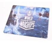 Килимок 290 * 250 тканинної World of Ships, товщина 3 мм, колір Grey, Пакет