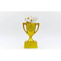 Статуэтка (фигурка) наградная спортивная Кубок и Бутса с мячем