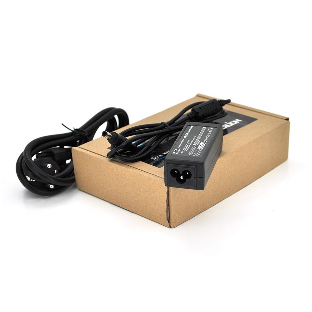 Блок живлення MERLION для ноутбука SAMSUNG 19V 2.1A (40 Вт) штекер 5.5. * 3,0 мм, довжина 0.9м + кабель живлення