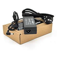 Блок живлення MERLION для ноутбука TOSHIBA 19V 4.74A (90 Вт) штекер 5.5 * 2.5 мм, довжина 0,9 м + кабель живлення