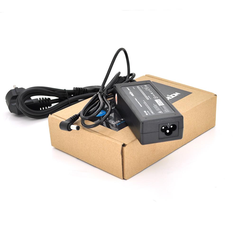Блок живлення MERLION для ноутбука ASUS 19V 3.42A (65 Вт) штекер 5.5 * 2.5мм, довжина 0,9 м + кабель живлення