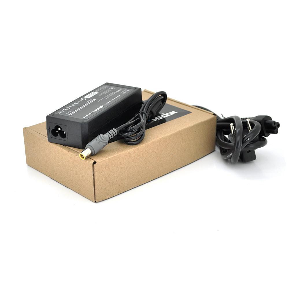 Блок живлення MERLION для ноутбука LENOVO 20V 3,25A (65 Вт) штекер 7.9 * 5.5мм, довжина 0,9 м + кабель живлення