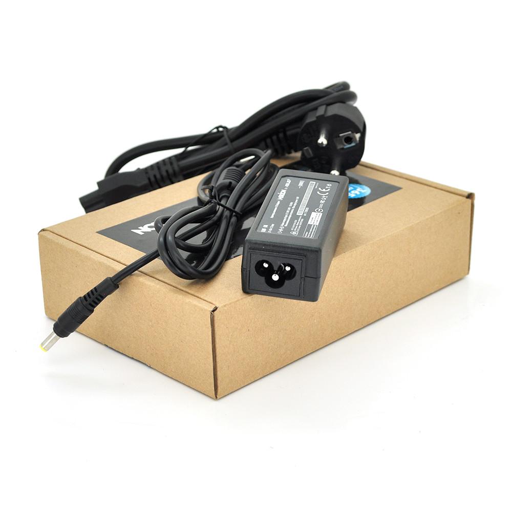 Блок живлення MERLION для ноутбука ASUS 12V 3A (36 Вт) штекер 4.8 * 1.7мм, довжина 0,9 м + кабель живлення