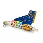 Звукова карта PCI - 4CH (c-media 8738), 3D 4.1, Windows 98 / Windows2000 / XP / NT win7 32/64, BOX
