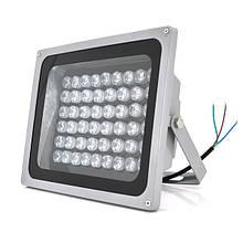Прожектор спрямований з сутінковим датчиком YOSO 220V 100W, 54LED, IP66, кут огляду 60 °, дальність до 150м, 280 * 230 * 130мм, BOX