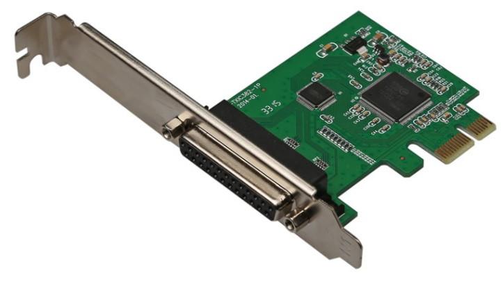 Контролер PCI-Е => LPT (25Pin), TX382B, BOX