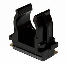 Кліпса для гофри чорна 20 мм (пач. 100шт. Ціна за пачку)