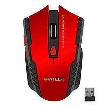 Миша геймерська Fantech W4 RAIGOR, 6 кнопок, 800-2000 DPI, Win7 / 8/10 Mac OS, RED, COLOR BOX
