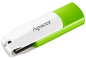 Флеш-память Apacer AH335  Green/White