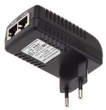 POE інжектор 12V 1A (12Вт) з портами Ethernet 10/100 / 1000Мбіт / с