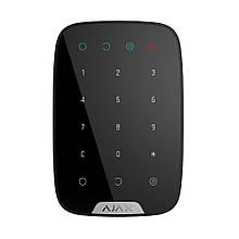 Бездротова сенсорна клавіатура Ajax KeyPad black