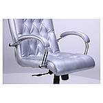 Кресло Бристоль HB Хром Механизм Anyfix Жемчуг-07, серый, фото 4