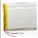 Літій-полімерний акумулятор 5 * 70 * 108mm 3,7V (Li-ion 3.7В 4000мА·ч)