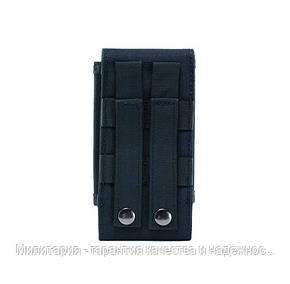 Підсумок для телефону Чорний. Сумка на пояс для телефону з діагоналлю від 5 до 7.2 (0101-black), фото 2