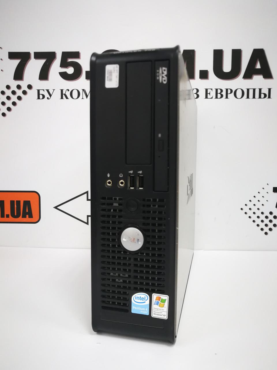 Компьютер Dell 745, Intel Core2Duo E4500 2.2ГГц, ОЗУ 4ГБ, HDD 160ГБ