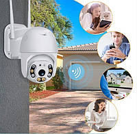 IP WiFi камера видеонаблюдения 1080p 2.0 Mp уличная поворотная CAD N3 датчик движения и микрофон