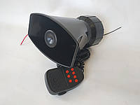 СГУ 7зв. 50W DL-90105 + микрофон крякалка спец сигнал спецсигналы сирена сирены для авто
