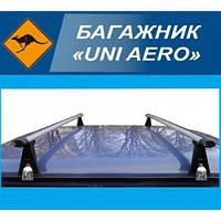 """Багажник """"UNI AERO"""" на водосток, поперечины 140см (UNI AERO 140)"""